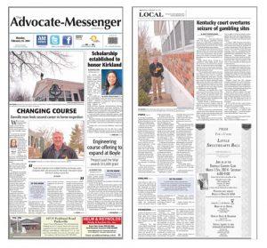 Kentucky Home Inspection News Article